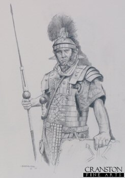 Legionary of the Roman Army by Chris Collingwood. (P)