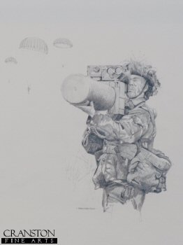 British Army Javelin Missile Launcher by Chris Collingwood. (P)