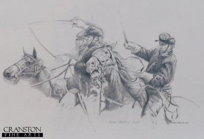 Union Cavalry, 1863 by Chris Collingwood. (P)