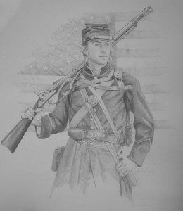 Union Infantryman by Chris Collingwood.