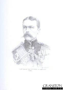 Major General Lord Kitchener of Khartoum c.1899 by Chris Collingwood (P)