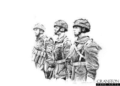British Paratroopers 1943 by Chris Collingwood.