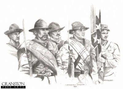 Stonewall brigade 1861 by Chris Collingwood.