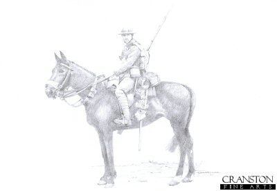 British 9th Lancer c.1914 by Chris Collingwood.