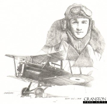 British Ace Albert Ball c.1917 by Chris Collingwood.