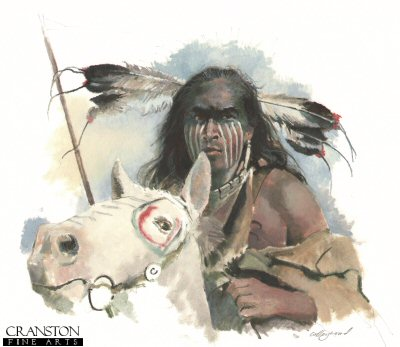Comanche Warrior c.1840s by Chris Collingwood.