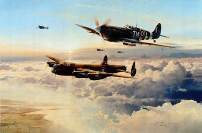 Escort for the Straggler by Robert Taylor