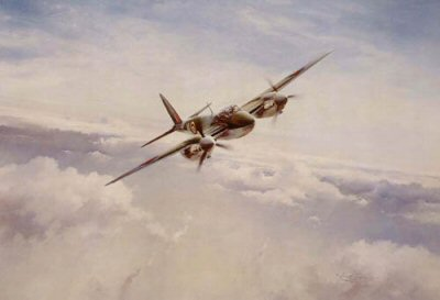 Mosquito Into Attack by Robert Taylor