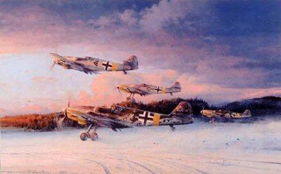 Eagles at Dawn by Robert Taylor