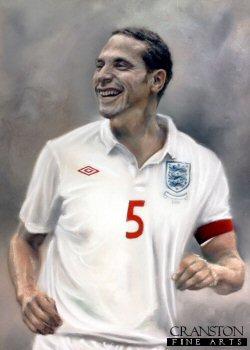 Rio Ferdinand by Stephen Doig. (P)