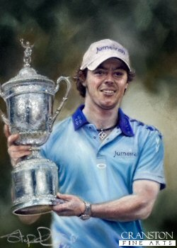 Rory McIlroy by Stephen Doig. (P)