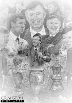 Sir Alex Ferguson CBE by Stephen Doig.