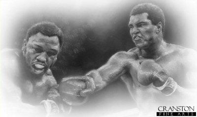 Ali vs Frazier by Stephen Doig.