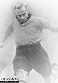 Billy Wright by Stephen Doig.