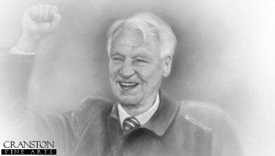 Sir Bobby Robson by Stephen Doig.