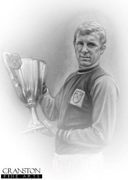 Bobby Moore - West Ham by Stephen Doig.