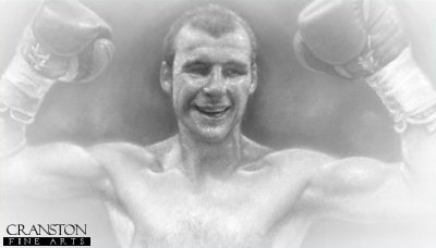 Joe Calzaghe - The Pride of Wales by Stephen Doig.