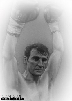 The Italian Dragon - Joe Calzaghe by Stephen Doig.