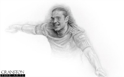 Andy Carroll by Stephen Doig.