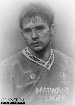 Ally McCoist MBE - Rangers by Stephen Doig.