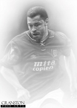 Paul McGrath - Aston Villa by Stephen Doig.