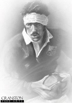 Mervyn Davies by Stephen Doig.