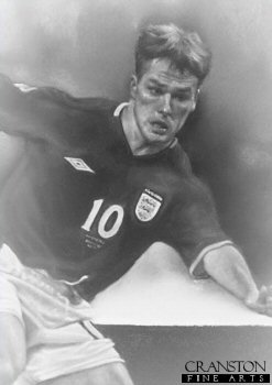 Michael Owen - England by Stephen Doig.