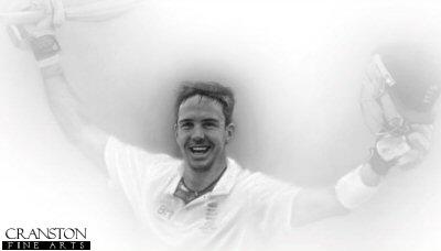Kevin Pietersen - Adelaide 2010 by Stephen Doig.