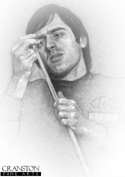 Ronnie O'Sullivan by Stephen Doig.