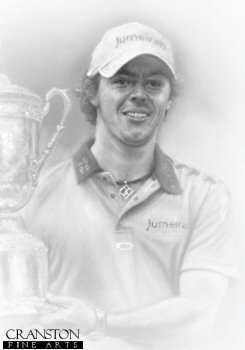 Rory McIlroy - US Open Champion by Stephen Doig.