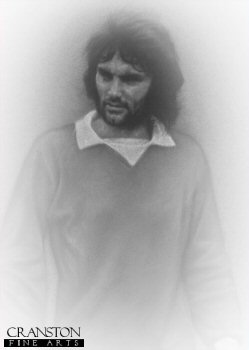 George Best - Manchester United Legend by Stephen Doig.
