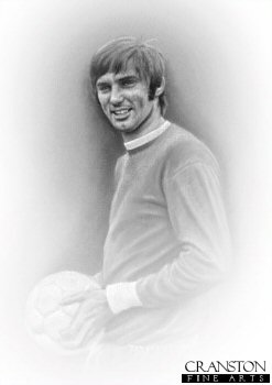 George Best by Stephen Doig.