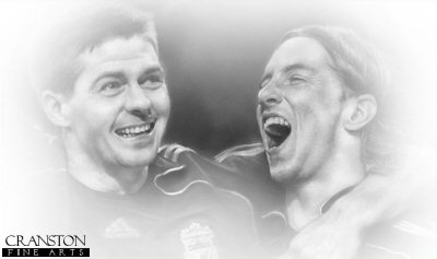 Gerrard and Torres - Liverpool by Stephen Doig.