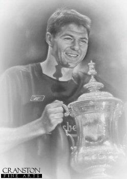 Liverpool - FA Cup Winners 2006 - Steven Gerrard by Stephen Doig.