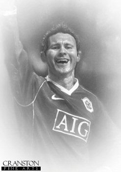 Ryan Giggs OBE - Manchester United by Stephen Doig.