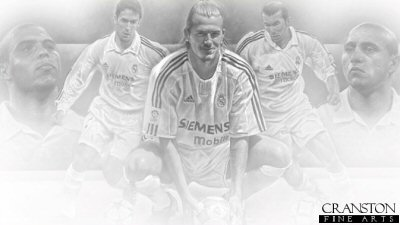 Real Madrid Legends by Stephen Doig.