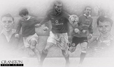 Legends - Manchester United by Stephen Doig.