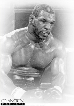 Mike Tyson by Stephen Doig.