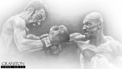 Minter vs Hagler by Stephen Doig.