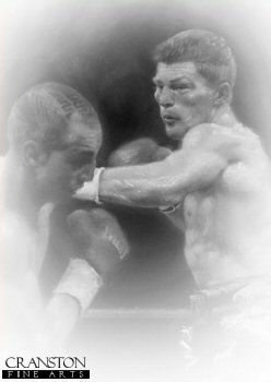 Ricky Hatton by Stephen Doig.