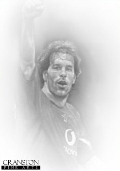 Ruud van Nistelrooy - Manchester United by Stephen Doig.
