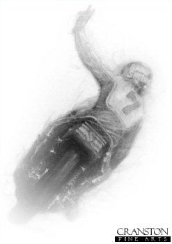 Barry Sheene - Suzuki by Stephen Doig.