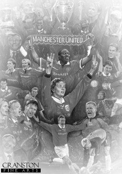 Manchester United - Treble Winners by Stephen Doig.