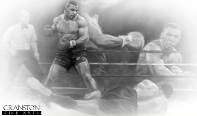 Tyson vs Berbick by Stephen Doig.