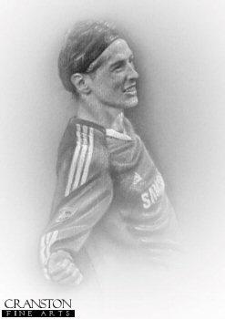 Fernando Torres - Chelsea by Stephen Doig.