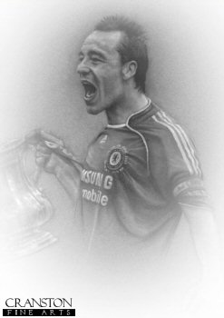 John Terry - FA Cup Winner by Stephen Doig.