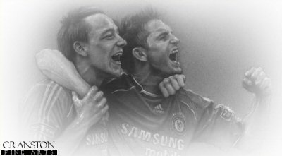 John Terry and Frank Lampard - Chelsea by Stephen Doig.