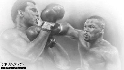 Ali vs Tyson by Stephen Doig.