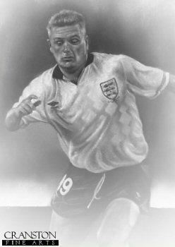 Paul Gascoigne - England by Stephen Doig.