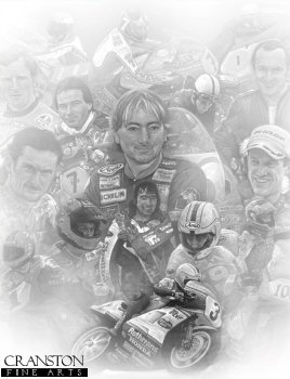 Joey Dunlop and Friends by Stephen Doig.